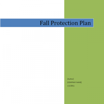 Fall Protection Plan