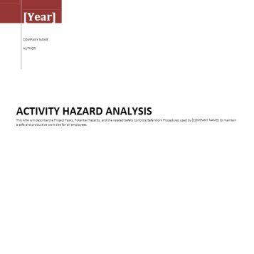 activity-hazard