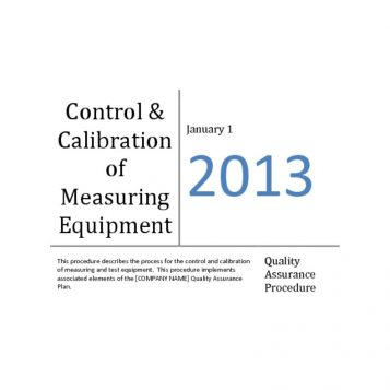 Control-and-Calibration-of-Measuring-Equipment-Sample-pdf